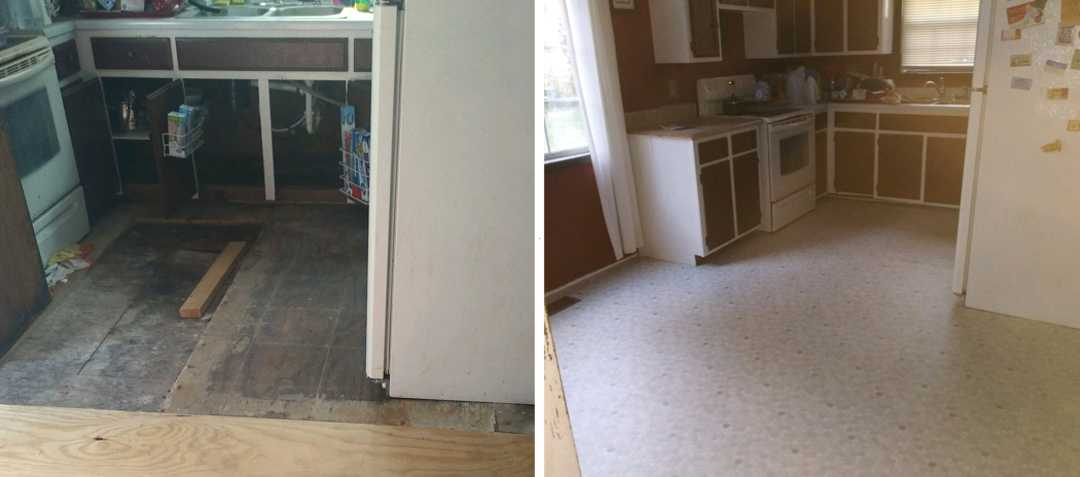 mobile home repair replace floor - triple j mobile home service tennessee